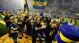 Boca'dan çılgın kutlama! Yer yerinden oynadı...