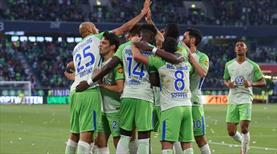 Yunus Mallı attı, Wolfsburg avantajı kaptı
