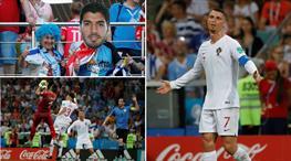 Uruguay - Portekiz maçından kareler burada!