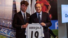 Real Madrid Odriozola'yı transfer etti