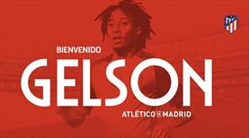 Gelson Martins Atletico Madrid'de