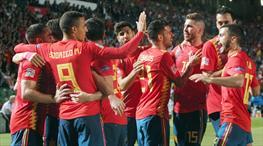 Hırvatlar kabus gördü! İspanya'dan yarım düzine gol!