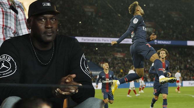 Jordan izledi, PSG şov yaptı! (ÖZET)