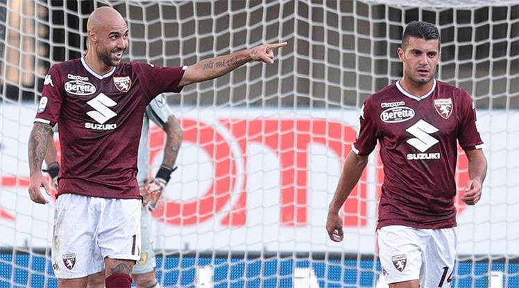 Zaza siftah yaptı, Torino kazandı