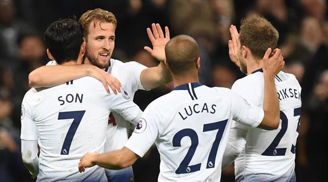 Tottenham kendine geldi! (ÖZET)