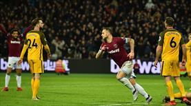 Sakatlıktan döndü, West Ham'ı kurtardı (ÖZET)