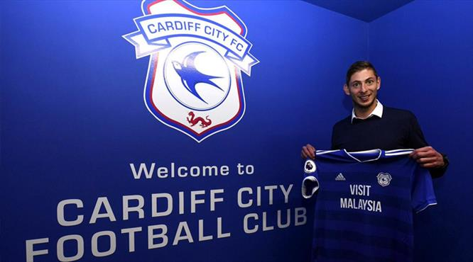 Emiliano Sala Cardiff'te!