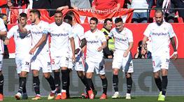 Sevilla'dan Levante'ye 11 gol (ÖZET)