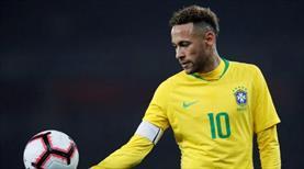 Brezilya'nın en erken dalyası Neymar'dan