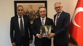 Fas Büyükelçisi'nden Cengiz'e ziyaret