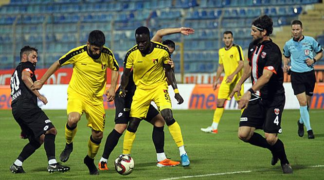 Adanaspor: 2 - İstanbulspor: 2 (ÖZET)