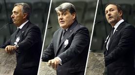 Beşiktaş'ta kongre heyecanı! Adaylar son konuşmasını yaptı