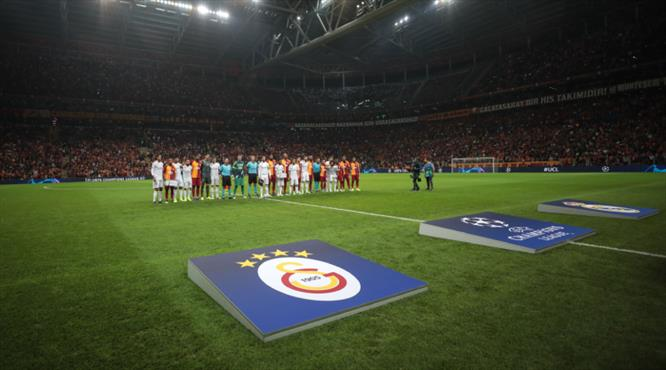 İşte Galatasaray - Real Madrid maçından kareler