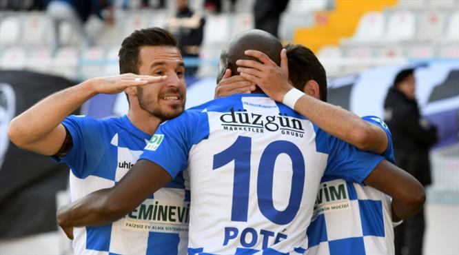 BB Erzurumspor - Hatayspor: 3-1 (ÖZET)