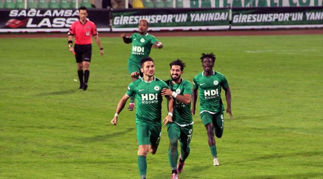 Giresunspor: 3 - Eskişehirspor: 1 (ÖZET)