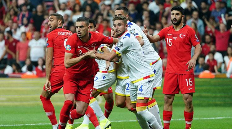 Andorra maçının biletleri tükendi