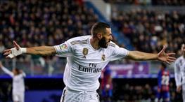 Benzema R. Madrid'i galibiyete taşıdı