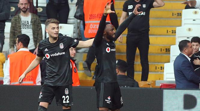 Beşiktaş'ın galibiyeti golü N'Koudou'dan