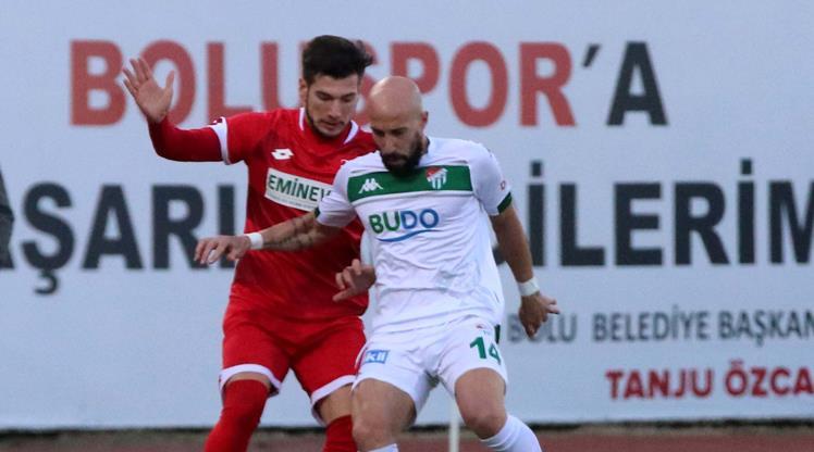 Boluspor: 1 - Bursaspor: 1 (ÖZET)