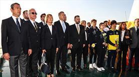 Fenerbahçe Kulübü, törenle Atatürk'ü andı