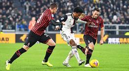 Juventus'un son kurbanı Milan (ÖZET)