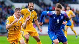 İzlanda deplasmanda kazandı