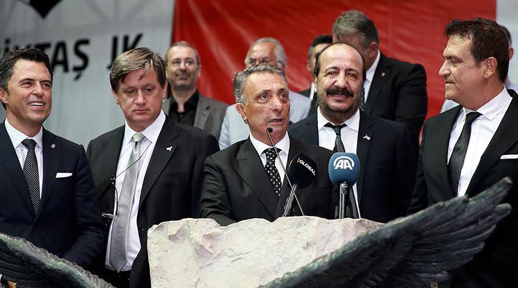 Beşiktaş Yönetim Kurulu'nda görev dağılımı