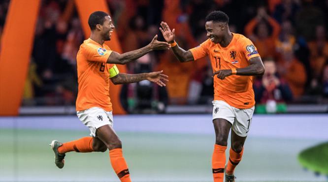 Wijnaldum coştu, Hollanda galibiyetle noktaladı