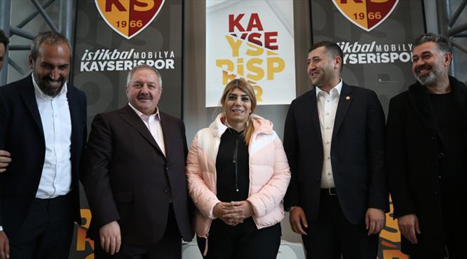 Berna Gözbaşı Kayserispor başkanlığına aday oldu