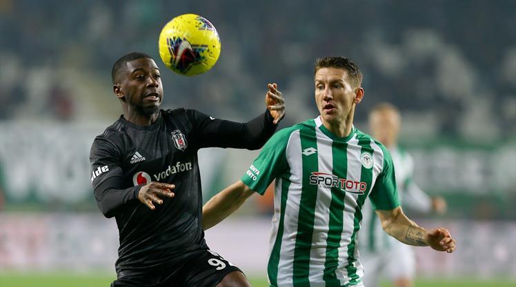 İşte İH Konyaspor-Beşiktaş maçının notları