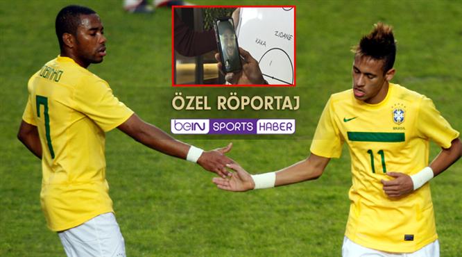 Robinho ve Neymar beIN SPORTS'ta buluştu