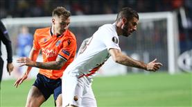 Medipol Başakşehir-Roma: 0-3 (ÖZET)