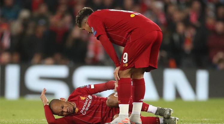 Fabinho'dan Liverpool'a kötü haber