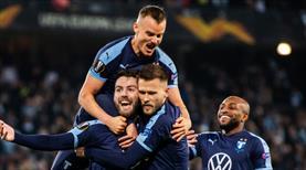 Gol düellosunda kazanan Malmö oldu (ÖZET)