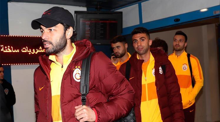 Galatasaray kafilesi Trabzon'da