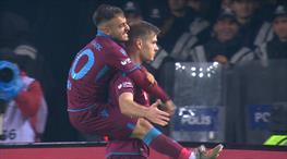 İşte Trabzonspor'u öne geçiren gol