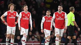 Arsenal kayıplarda
