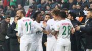 Bursaspor - Giresunspor: 2-3 (ÖZET)
