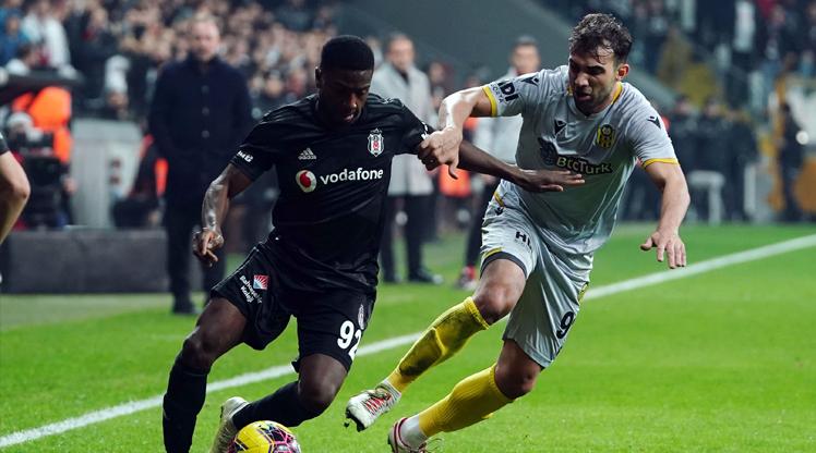 Beşiktaş - BTCTURK Yeni Malatyaspor: 0-2