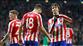 Atletico Madrid işini şansa bırakmadı (ÖZET)
