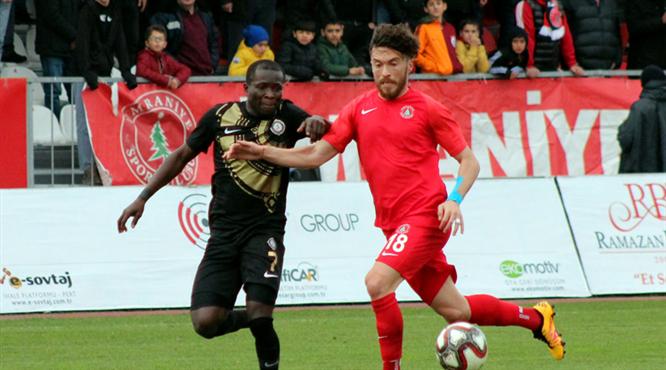 Cesar Grup Ümraniyespor: 1 - Osmanlıspor: 0 (ÖZET)