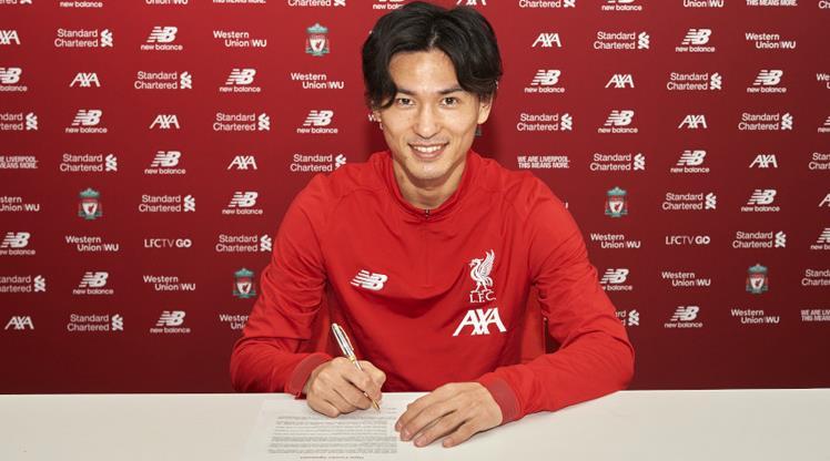 Liverpool'a Japon orta saha