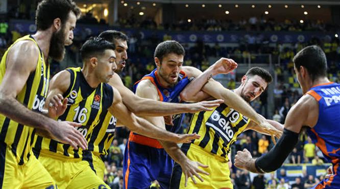 Fenerbahçe Beko uzatmalarda yıkıldı