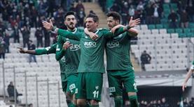 Bursaspor - Hatayspor: 2-1 (ÖZET)