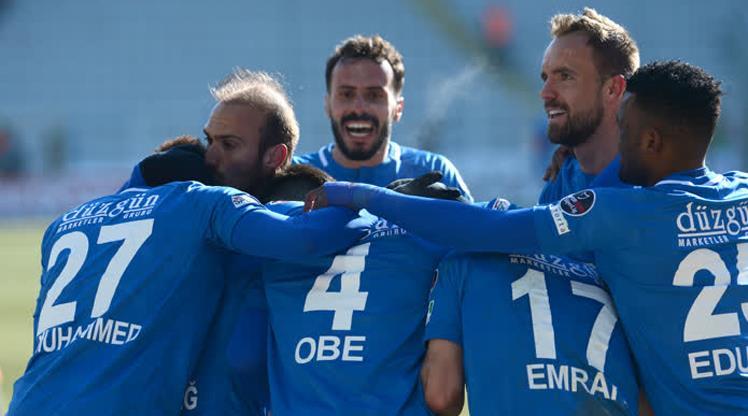 Erzurum 8 maç sonra güldü