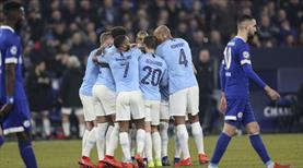 Manchester City'den 10 kişiyle müthiş geri dönüş (ÖZET)