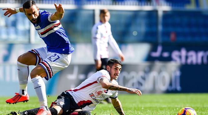Sampdoria kaptanıyla güldü!