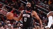 Harden'dan NBA tarihinde bir ilk!
