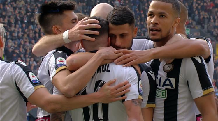 Udinese Bologna'yı ateşe attı