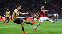 Milan galibiyeti unuttu (ÖZET)